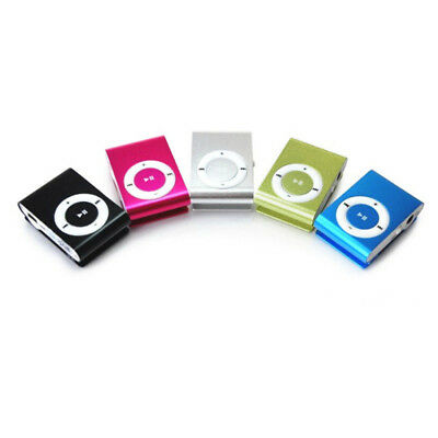 Mini USB Clip Sport MP3 Player Walkman Support Up To 64GB Micro SD Memory Card 8
