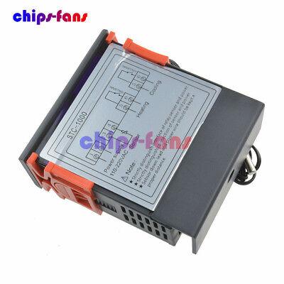 STC-1000 Temperature Controller Temp Sensor Thermostat Control Digital 110V-220V 3