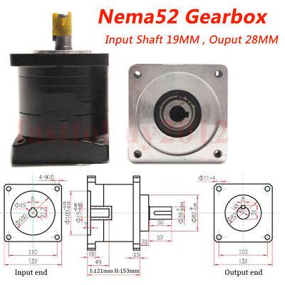 Planetary Gearbox for Nema23/34/42/52 Stepper Motor Speed Reducer Gear Head CNC 2
