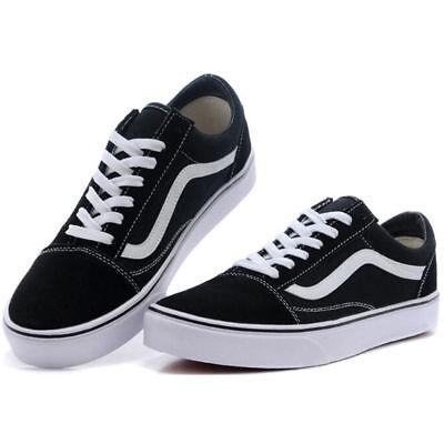 VAN Classic OLD SKOOL Low / High Top sneakers camoscio tela Casual scarpe uomo 2