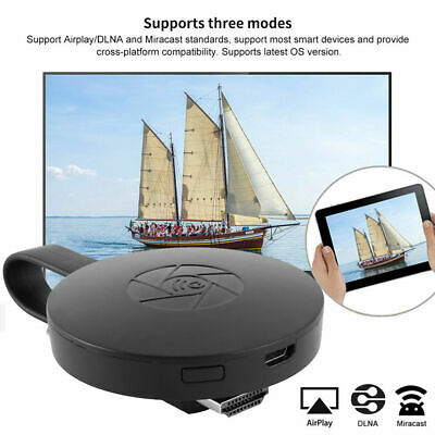 Chromecast Wireless Mirascreen Hdmi Display Dongle Media Video Streamer 2 5