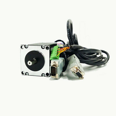 3Axis 3Nm Nema23 Stepper Motor Closed-loop Hybrid Servo Driver Kit+Controller 8