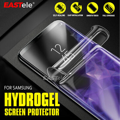 EASTele Samsung Galaxy S10 5G S9 S8 Plus Note 10+ 5G 9 HYDROGEL Screen Protector 12