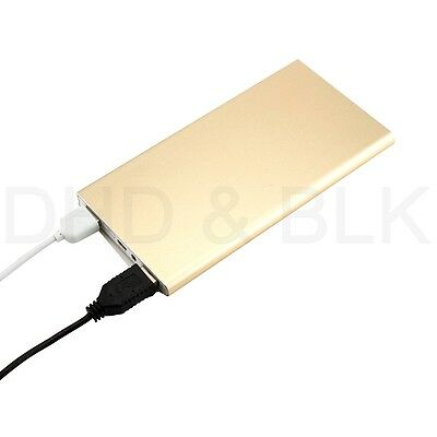 Ultra Thin 20000mAh Portable External Battery Charger Power Bank for Cell Phone 6