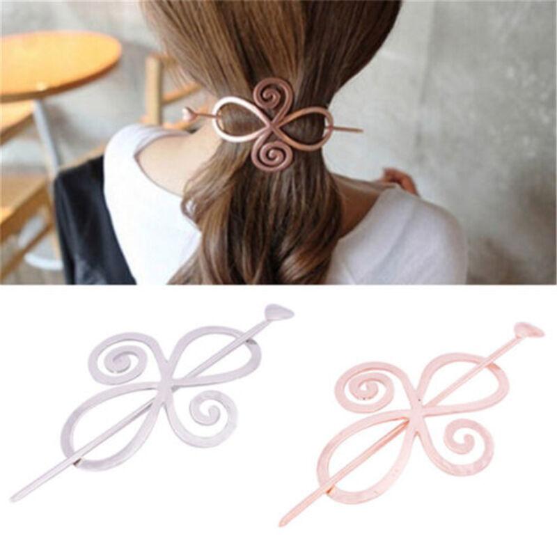 Barrette Shawl Pin Hair Accessories Bun Holder Hairpin Long Hair Slide Clip New 3