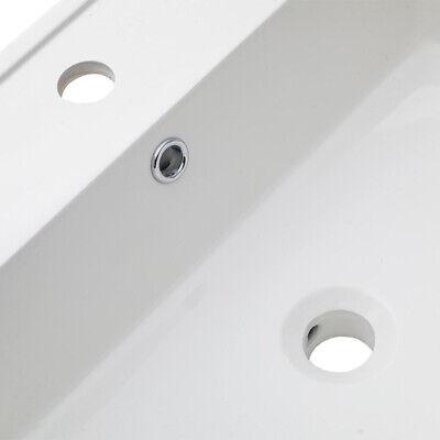 LAVABO BAGNO AD incasso lavandino rettangolare 101x46,5x2 cm serie Abondio