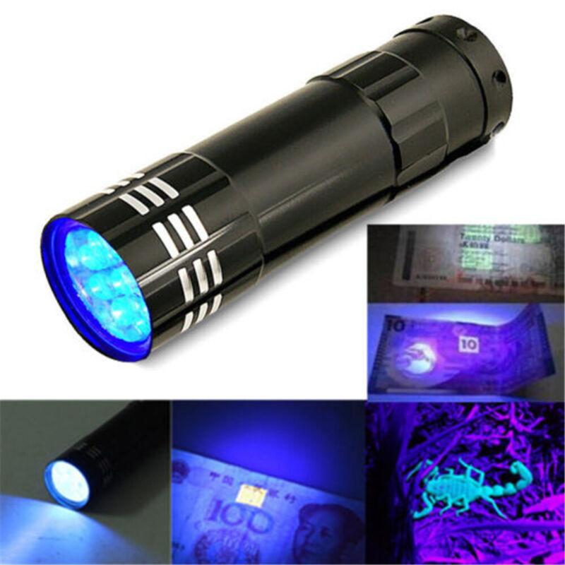 21 LED UV Flashlight Torch Light 395nm Ultra Violet Light UV Lamp TorchSF