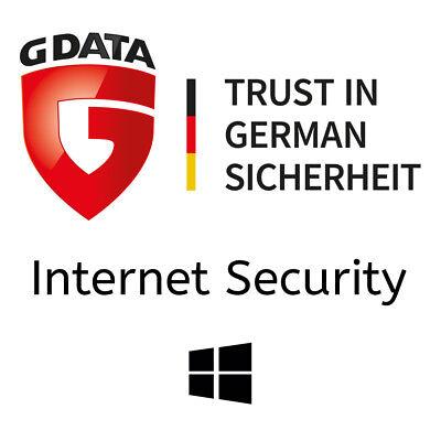 G DATA Internet Security 2019 | 1 PC - 1 Jahr