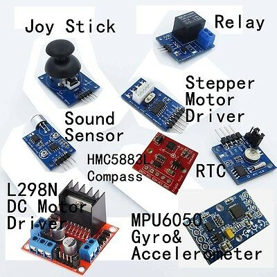 EPAL Professional UNO R3 Starter Kit for Arduino LCD Compass Gyro Processing AU 10