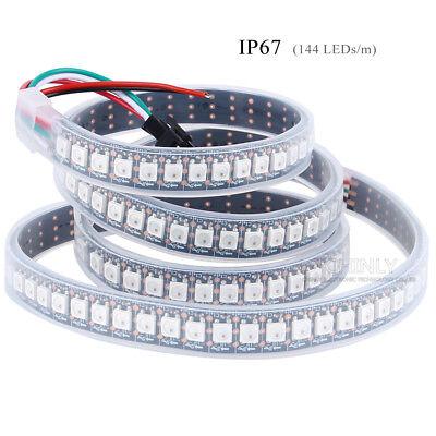 WS2812B LED Streifen 5m WS2812 RGB Licht SMD 5050 Individuell Adressierbar DC5V 8