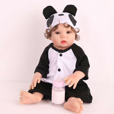 "16"" Lifelike Reborn Baby Doll Full Body Silicone Anatomically Xmas Gifts Dolls 9"