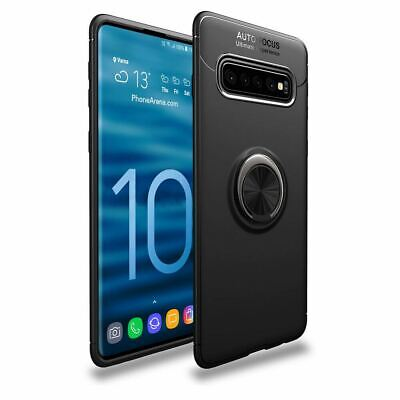Samsung Galaxy S10 Plus S10E Luxury Magnetic 360 Ring Holder Phone Case Cover 9