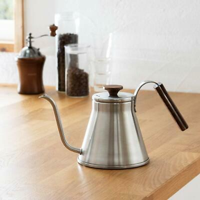 Hario V60 Coffee Drip Kettle Wood 800ml VKW-120-HSV from JAPAN 4