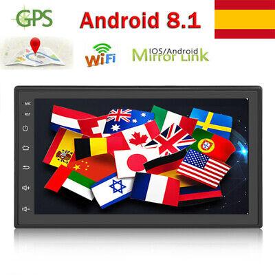 """7 """"Android 8.1 AUTORADIO con navegación GPS NAVI BLUETOOTH WIFI DOBLE 2 DIN MP3 8"""