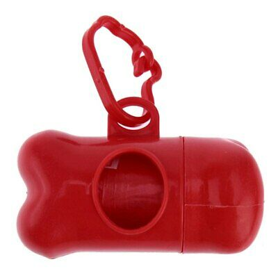 Pet Dog Poop Bags Dispenser Waste Garbage Carrier Holder Set Trash Cleaning Tool 3