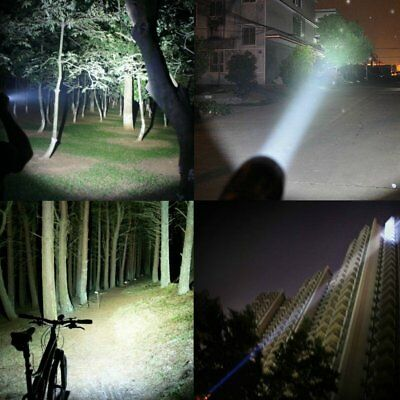 T6 Tactical Military LED Flashlight Torch 50000LM Zoomable 5-Mode for 18650 10
