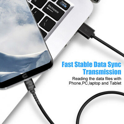Micro USB Type C Sync Data Charger Cable For Samsung S10 S9 S8 S7 Note 9 GoPro6 5