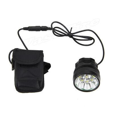 Super Bright 50000LM 9x T6 LED Bike Bicycle MTB Head Light Headlamp+Rear Light 4