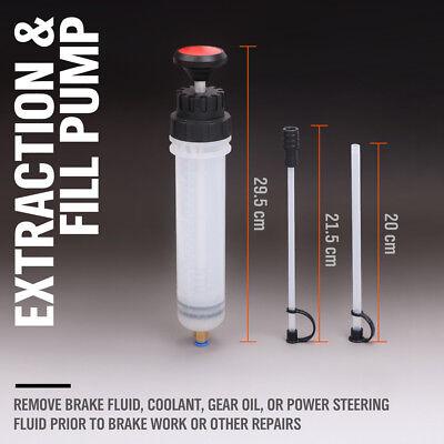 Fluid Extraction Filling Syringe Transfer Liquid Pump Oil Extractor Automotive 2