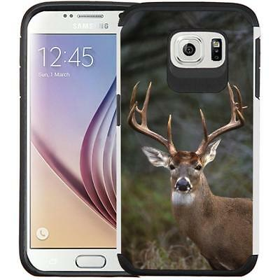Slim Hybrid Armor Case Shock Proof Protective Cover for Samsung Galaxy S6