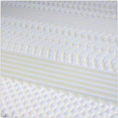 Materasso Matrimoniale 160X190 H25 Cm 9 Zone Differenziate 7 Cm Memory Foam Like 8