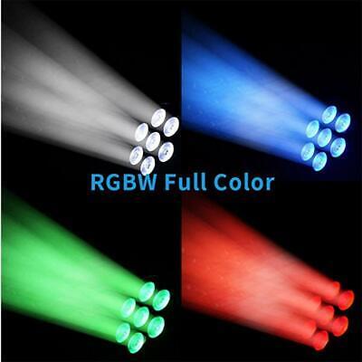 2x 105W RGBW Wash 7LED 9/14CH DMX Mini Moving Head Stage Light Lighting DJ Disco 2