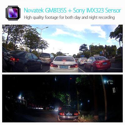 2 Set Blueskysea B1W 1080P WiFi App IMX323 Dash Camera Capacitor Car DVR Vehicle 4