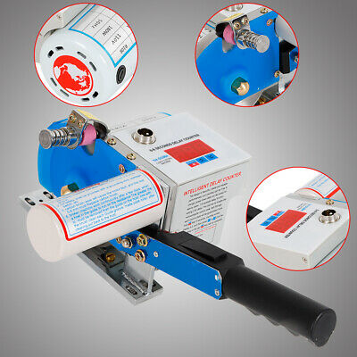 Fabric Cloth Cutter w/ Digital Counter Clothing Tool Auto Sharpening Blade 105mm 5