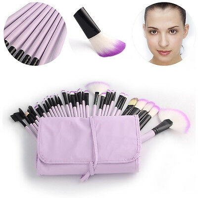 Professional Makeup Brushes Set Eyeshadow Lip Powder Blusher Cosmetics Kit 4
