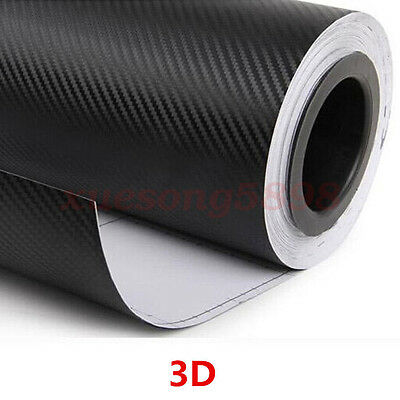 3D Waterproof Carbon Fiber Vinyl Car Wrap Sheet Roll Film Sticker Decal Paper 8