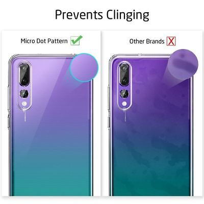 Shockproof Silicone Protective Clear Gel Cover Case For Huawei P20 Pro P Smart 6