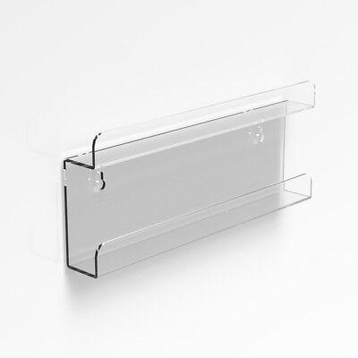 Wall Mounted Acrylic Nail Polish Display Shelf Nail Varnish Bottle Stand Holder 2