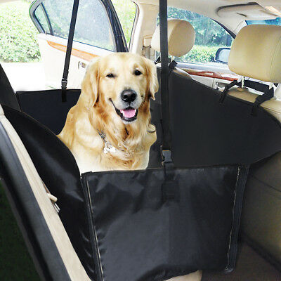 Pet Dog Hammock Car Truck Van Back Seat Cover Waterproof Nonslip Protector Mat 2