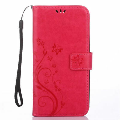 For Samsung Galaxy S8 S9 S10+ Leather Magnetic Flip Stand Card Wallet Case Cover 11