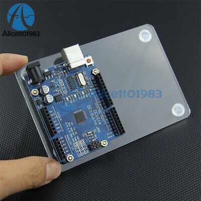 Universal Experimental Platform Transparent Clear Acrylic Board UNO for Arduino 2