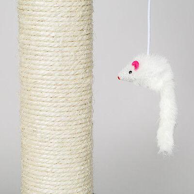 Arbre à chat griffoir grattoir beige 2
