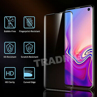 Galaxy S9Plus S10 5G Note9 S10e Full Tempered Glass Screen Protector For Samsung 3