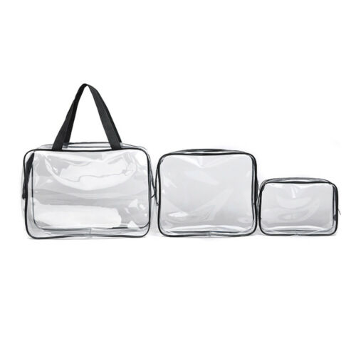 3PZ Makeup Bag Travel Airport Airline Zompliant Bag Waterproof Seal Bag I9Z 2