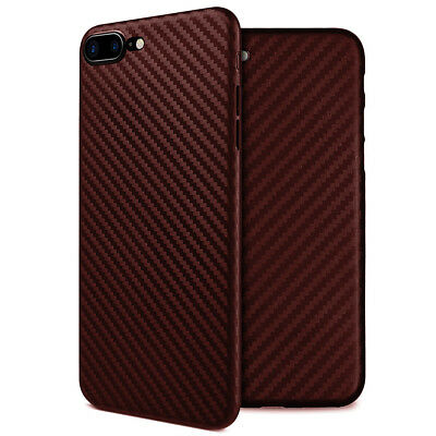 Coque Etui Housse Silicone Protection Carbone iPhone 6 6S 7 Plus 8 X XR XS MAX 6