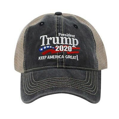 Donald Trump Republican 2020 Cap Adjustable Summer Hat Keep Make America Great 6