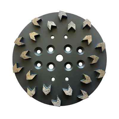 "2PK-10/"" ARROW #20//30g Diamond Disc Plate EDCO 20 Seg Epoxy Concrete Mastic-Best"