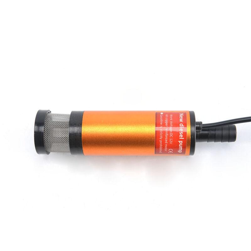 12V 38mm Ölpumpe Tauchpumpe Wasser Pumpe Transfer Ballpumpe Landmaschinen DE