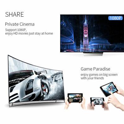 Chromecast Wireless Mirascreen Hdmi Display Dongle Media Video Streamer 2 8