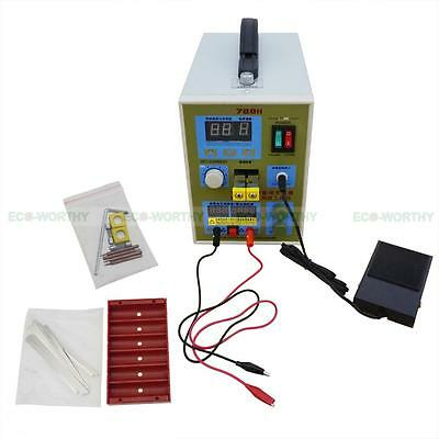 788H 60A USB LED Dual Pulse Spot Welder 18650 Battery Charger Power Bank Test US 5