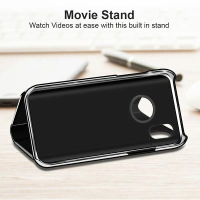 New Apple iPhone 6 6s 7 8 X Plus Smart View Mirror Leather Flip Stand Case Cover