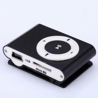 Mini USB Clip Sport MP3 Player Walkman Support Up To 64GB Micro SD Memory Card 5