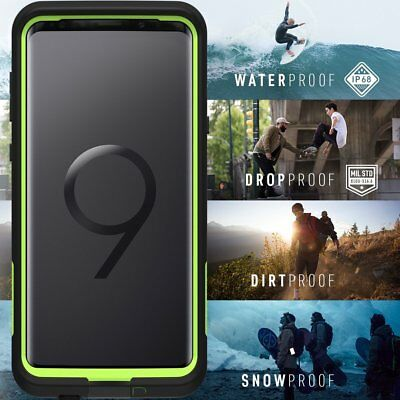 Galaxy S10 S9 Plus Case Genuine Lifeproof Shock Water proof Cover For Samsung 6