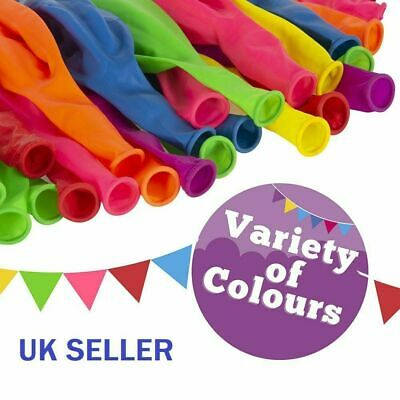 5-100 LARGE PLAIN BALONS BALLONS helium BALLOONS Quality Birthday Wedding BALOON 2