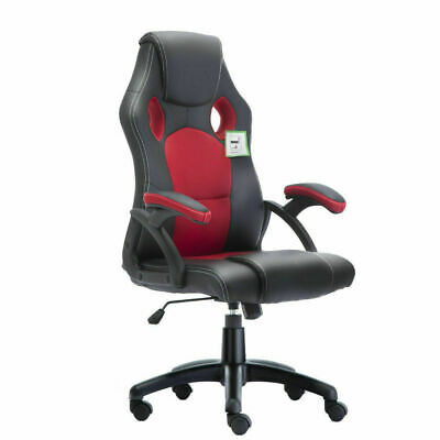 Executive Office Racing Gaming Chair Swivel Pu Leather Computer Desk Sport 4