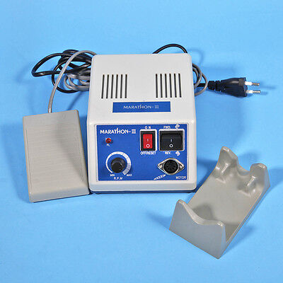 Dental Lab Marathon Micro Motor 35K rpm N3 w/ Straight Contra Angle Handpiece US 6